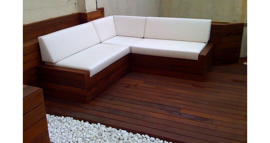 Moskito parquet Barcelona proyecto decking exterior
