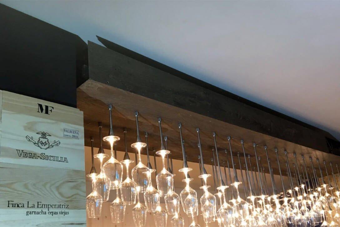 Moskito parquet Barcelona proyecto barra bar