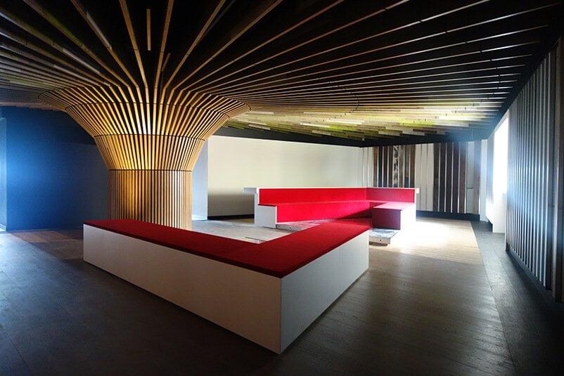Moskito parquet Barcelona showroom proveedor