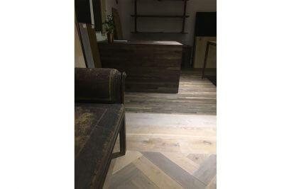 Moskito parquet Barcelona new showroom en Barcelona