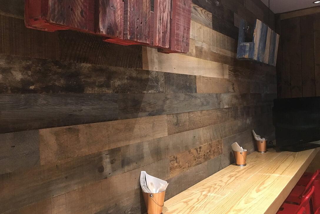 Moskito parquet Barcelona proyecto Xips and Saladz en la Villa olímpica de Barcelona