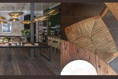 Moskito Parquet Barcelona proyecto restaurant Llop