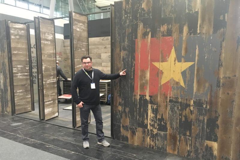 moskito parquet barcelona domotex 2018 Xavi Font
