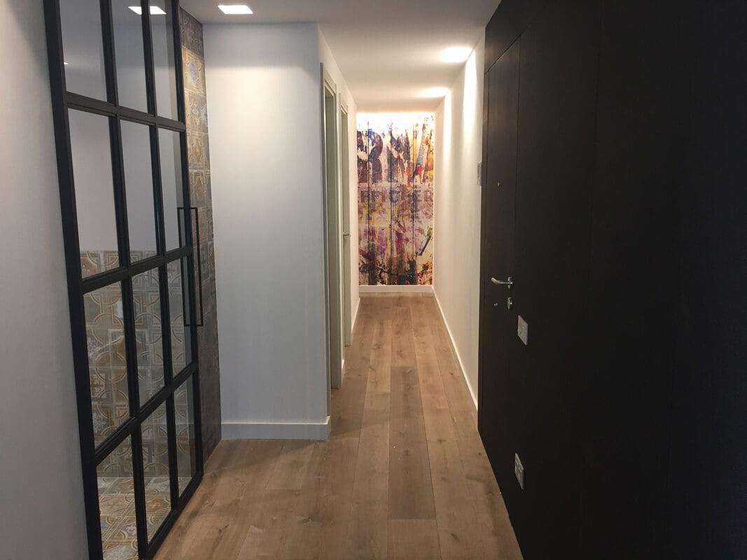 Moskito Parquet Barcelona, instalación de suelo de madera en piso del Eixample de Barcelona